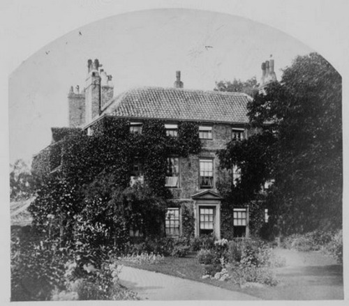 Croft Rectory, c. 1856