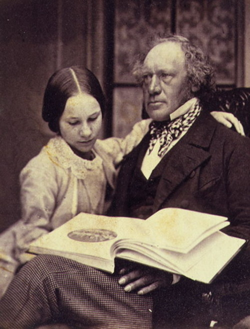 J. Marshall, Esq., and Julie (daughter), 1857