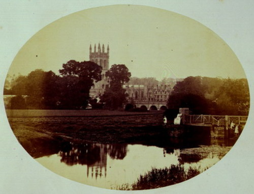 Magdalen Tower, Oxford, 1861