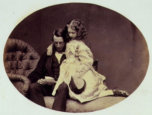 Rev. R. Gandell and Florence, 1862